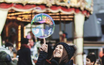 has your social media bubble burst